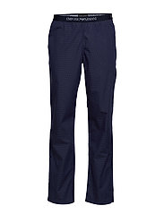 MEN'S WOVEN TROUSERS - PUNTINATO MARINE