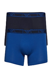 MEN'S KNIT 2-PACK BOXER - MARINE/BLU REALE