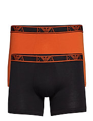MEN'S KNIT 2-PACK BOXER - NERO/TENNE'