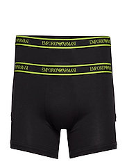 MEN'S KNIT 2-PACK BOXER - NERO/NERO