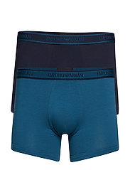 MEN'S KNIT 2-PACK BOXER - PETROLIO/MARINE