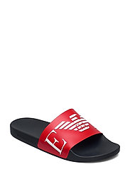 SLIPPER - RED+WHITE+MARINE