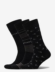 Emporio Armani - SOCKS - tavalliset sukat - nero - 0