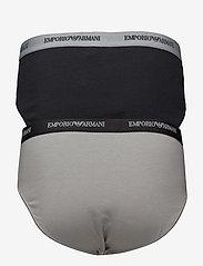 Emporio Armani - MENS KNIT 2PACK BRIE - alushousut - nero/grigio - 1
