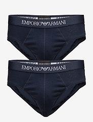 Emporio Armani - MENS KNIT 2PACK BRIE - alushousut - marine/marine - 0