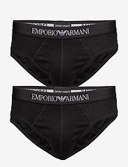 Emporio Armani - MENS KNIT 2PACK BRIE - alushousut - nero/nero - 0