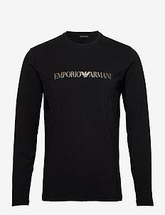 T-SHIRT - langermede t-skjorter - nero