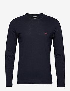 T-SHIRT - basis-t-skjorter - marine