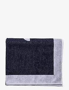 MENS WOVEN TOWEL - beach towels - blu navy