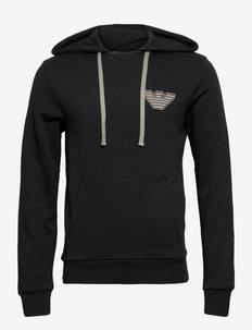 MEN'S KNIT SWEATER - hoodies - nero