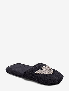 MEN'S WOVEN SLIPPERS - MARINE