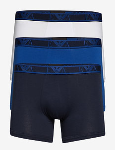 MEN'S KNIT 3-PACK BOXER - BLU REALE/BCO/MAR.