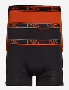 MEN'S KNIT 3-PACK BOXER - NERO/TENNE'/NERO