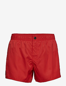 MENS WOVEN SHORTS - ROSSO