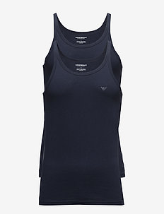 MENS KNIT 2PACK TANK - MARINE/MARINE