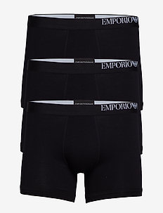 MEN'S KNIT 3-PACK BOXER - NERO/NERO/NERO
