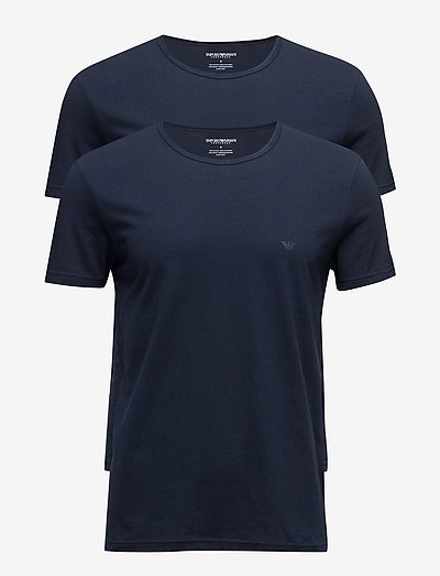 MENS KNIT 2PACK TSH - t-shirts basiques - marine/marine
