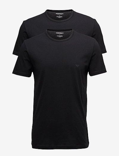 MENS KNIT 2PACK TSH - t-shirts basiques - nero/nero