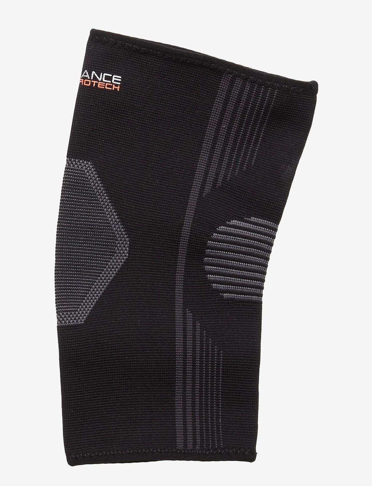 Endurance - PROTECH Knee Compression - knæ støtte - 1001 black - 1
