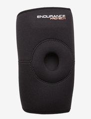 Endurance - PROTECH Neoprene Open Knee Support - knee support - 1001 black - 0