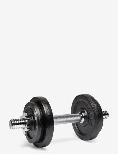 Dumbbell 10 kg set - painot - 1001 black