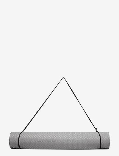 Yoga matt 4 MM - yogamåtter & tilbehør - 1010 frost grey