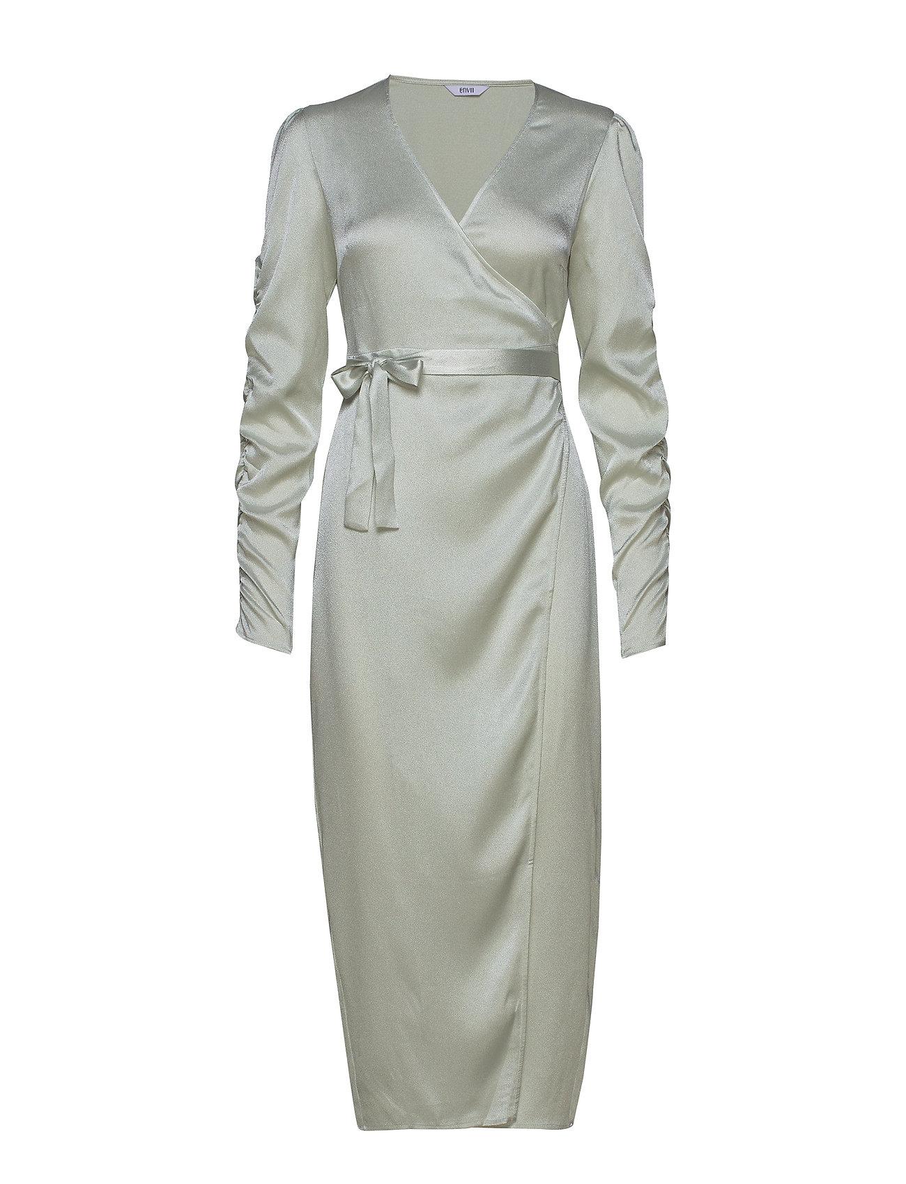 Envii ENBIANCA LS DRESS 6613 - CHAMPAGNE SHINE