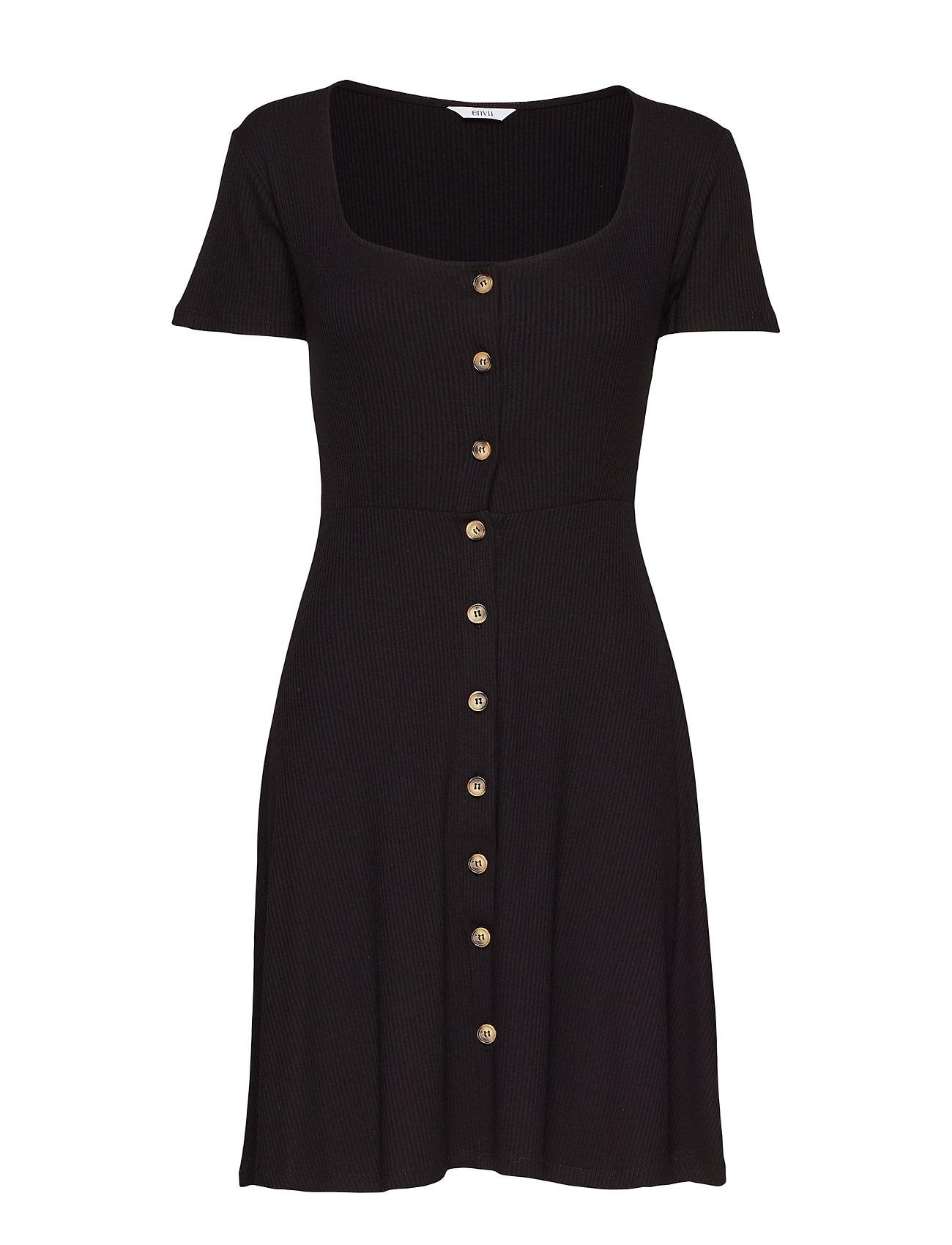 Envii ENWIMBLEY SS DRESS 5923 - BLACK