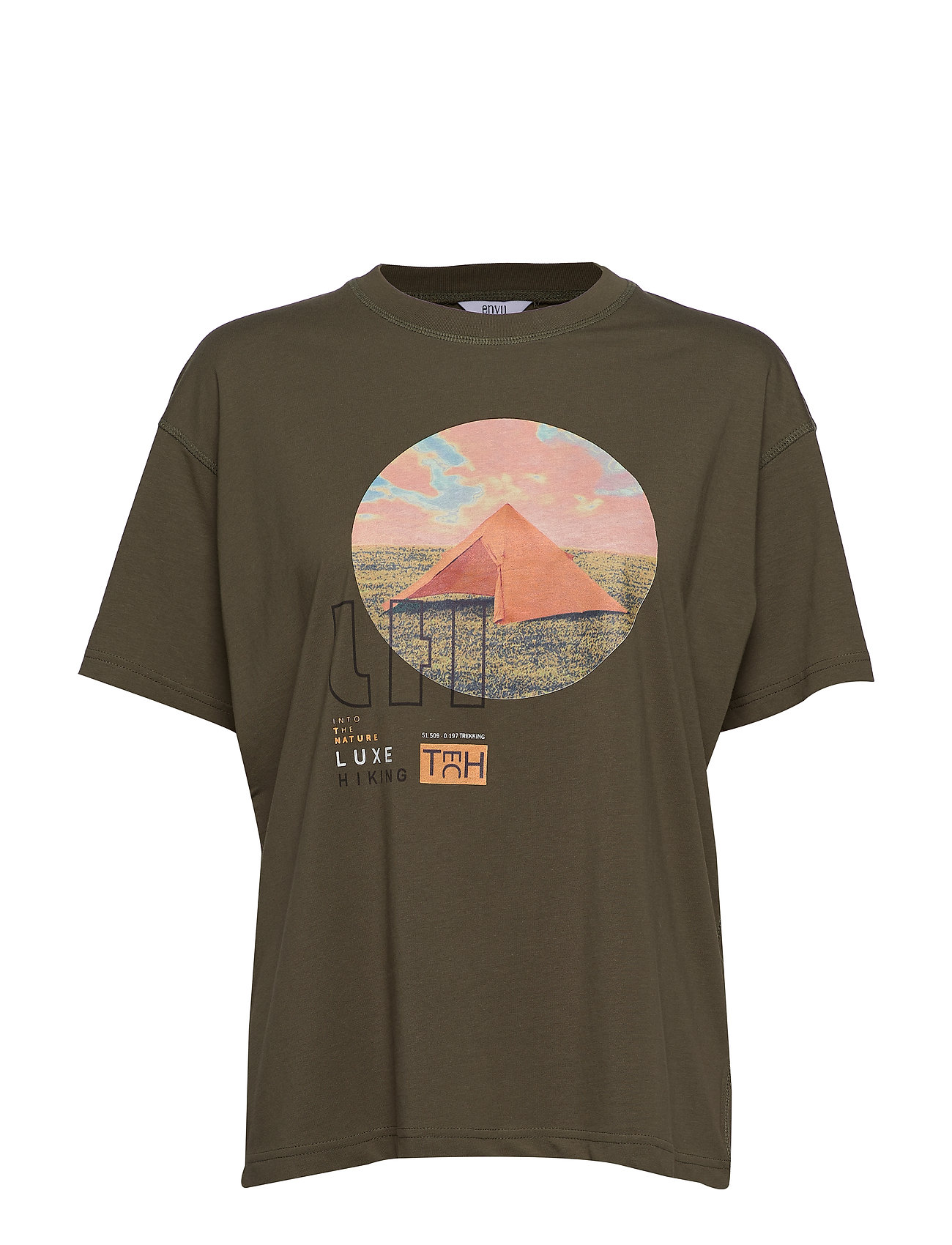 Envii ENKULLA SS TEE OLIVE 5310 - LUXE OLIVE