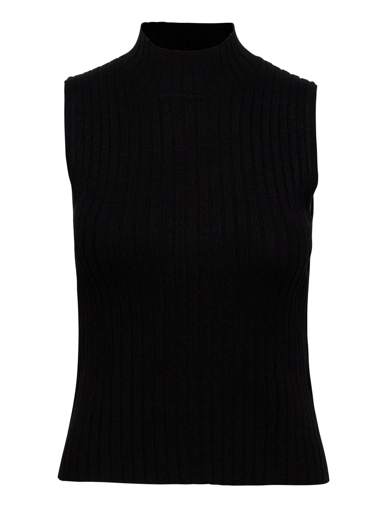 Image of Enmichael Sl Knit 5239 Vests Knitted Vests Sort Envii (3461978821)