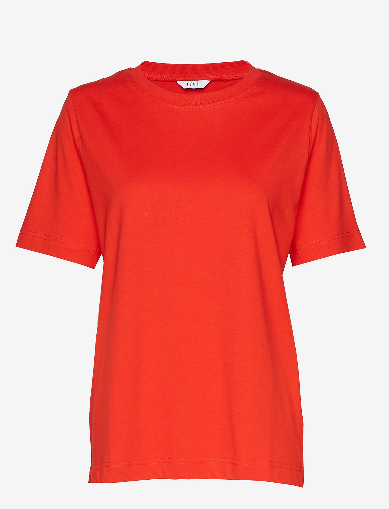 Envii Enbeverly Ss Tee 5310 - T-shirts & Toppar High Risk Red