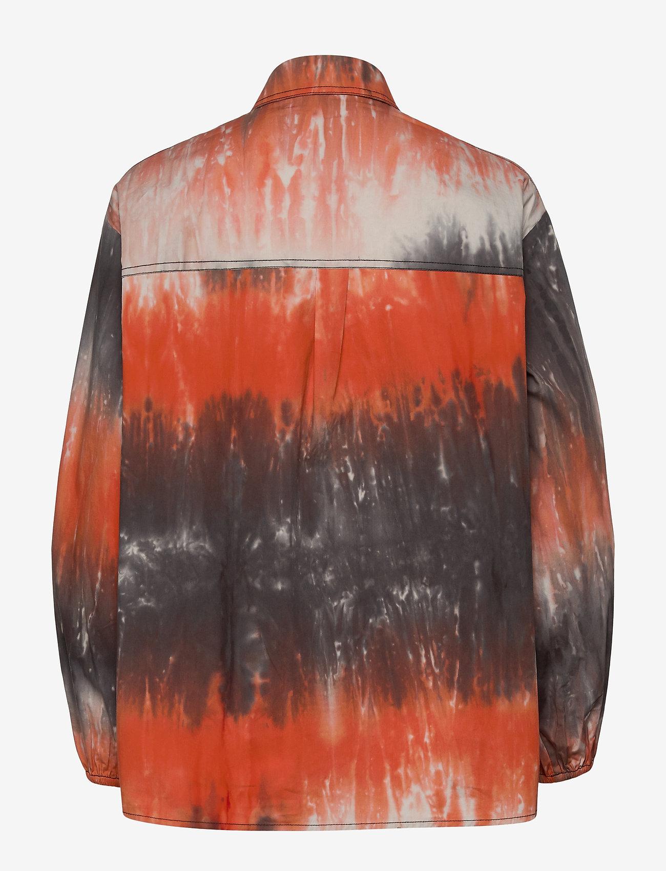 Envii Entopaz Ls Shirt Aop 6709 - Chemisier & Chemises Tigerlily Td