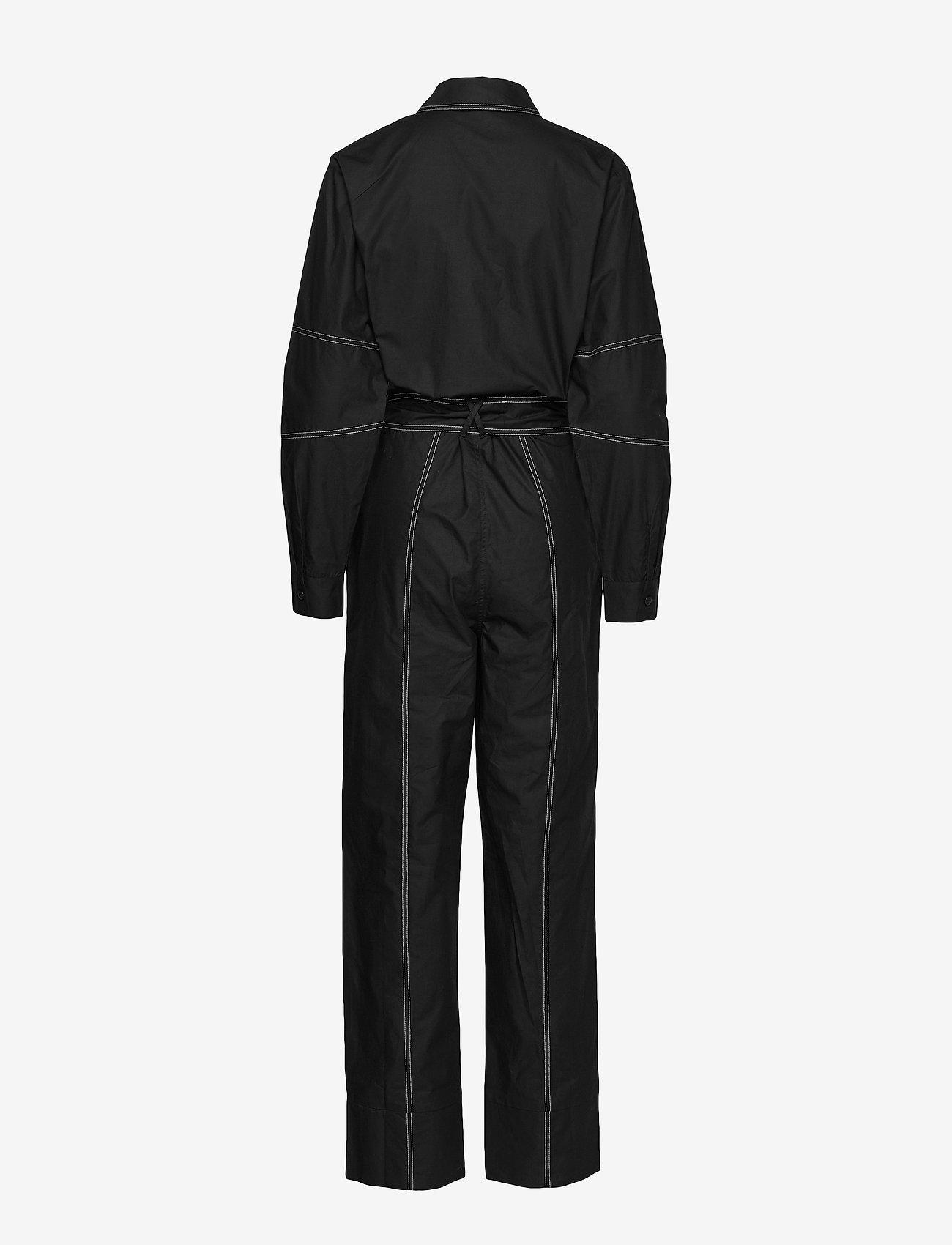 Envii Entopaz Ls Jumpsuit 6691 - Combinaisons Black