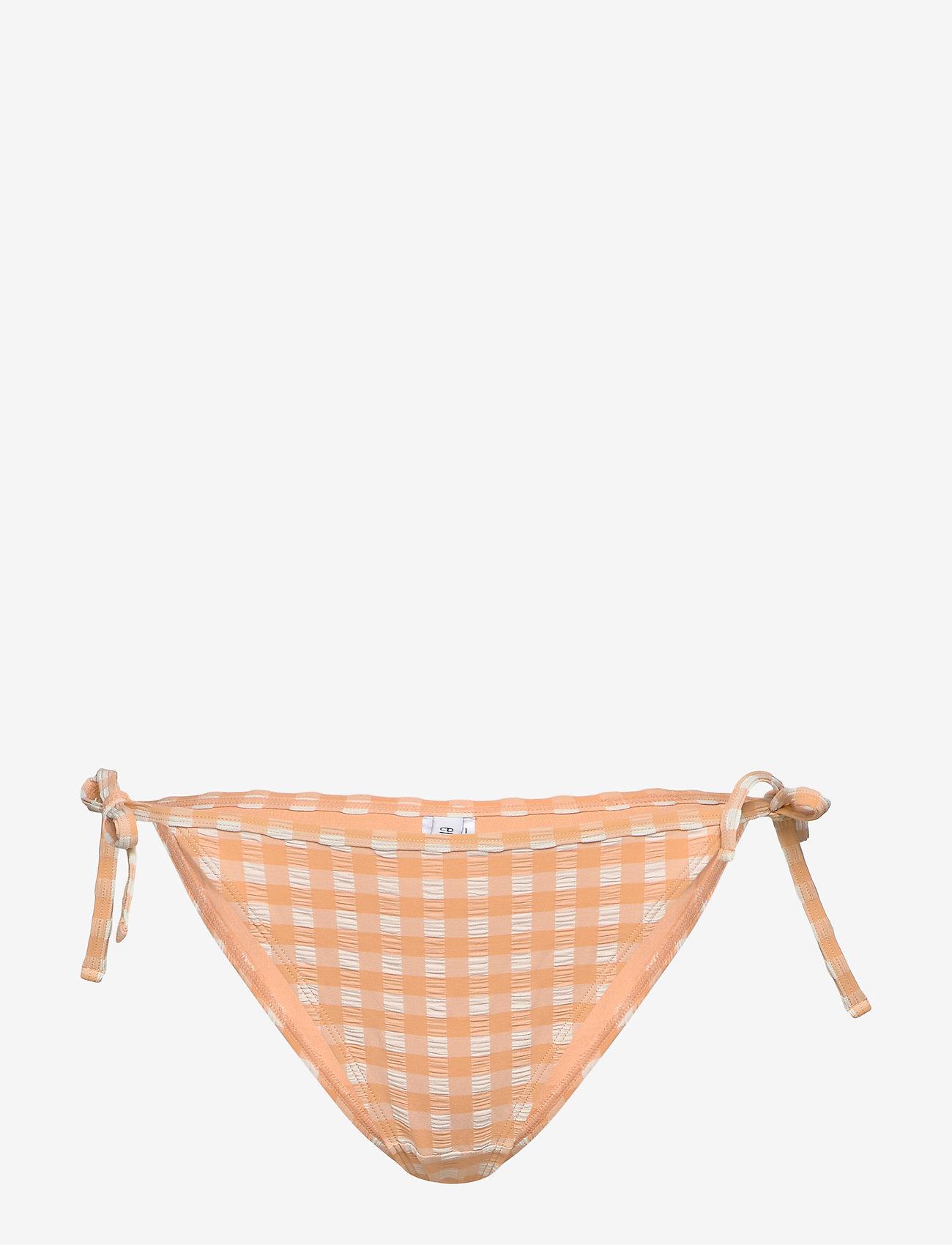 Enhali Swim Panties 5326 (Salmon Check) (195 kr) - Envii