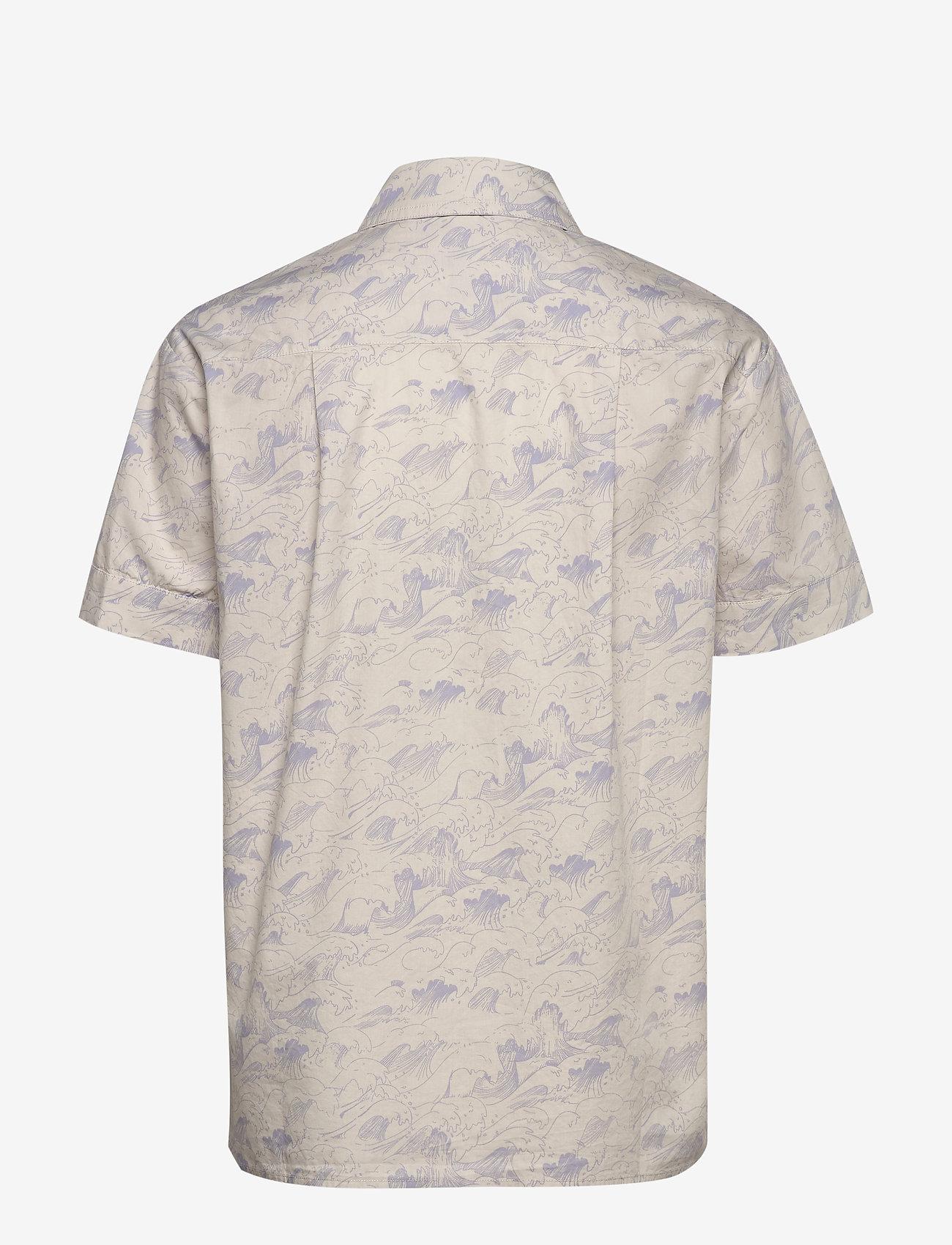 Enshane Ss Shirt Aop 6731 (Wave Aop) (448 kr) - Envii