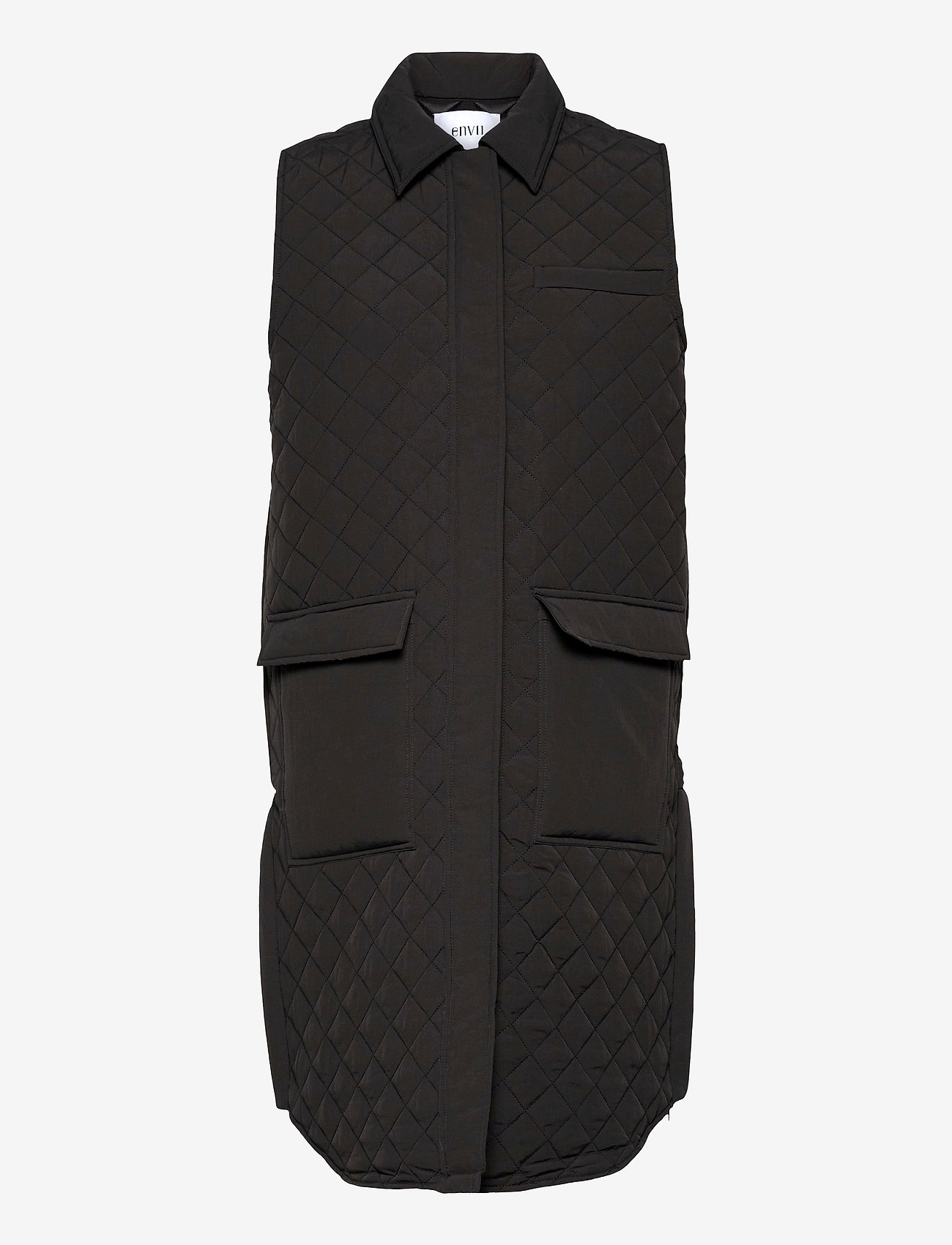 Envii - ENMANHATTAN WEST 6729 - puffer vests - phantom - 0