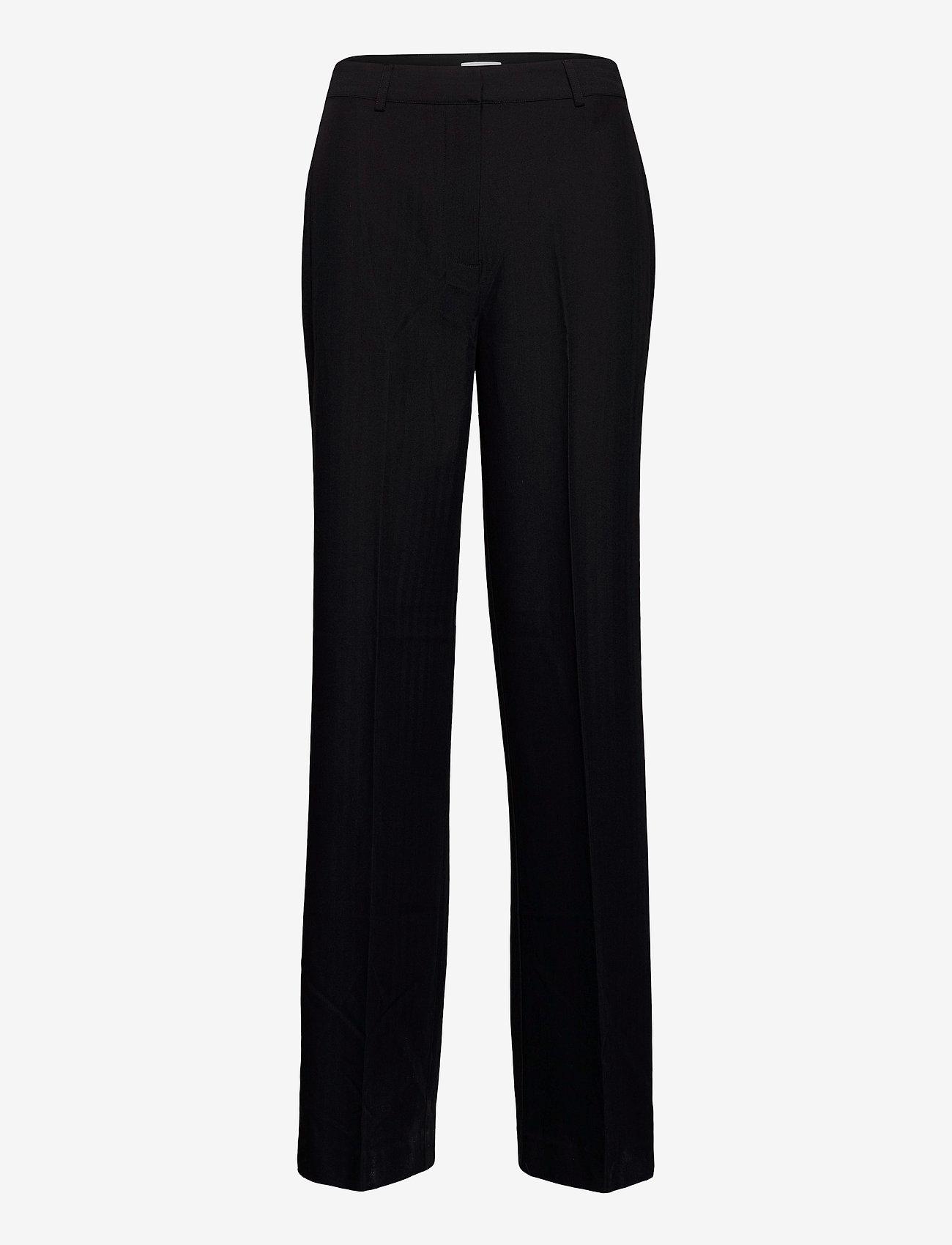 Envii - ENSMITH PANTS 6726 - bukser med brede ben - black - 0