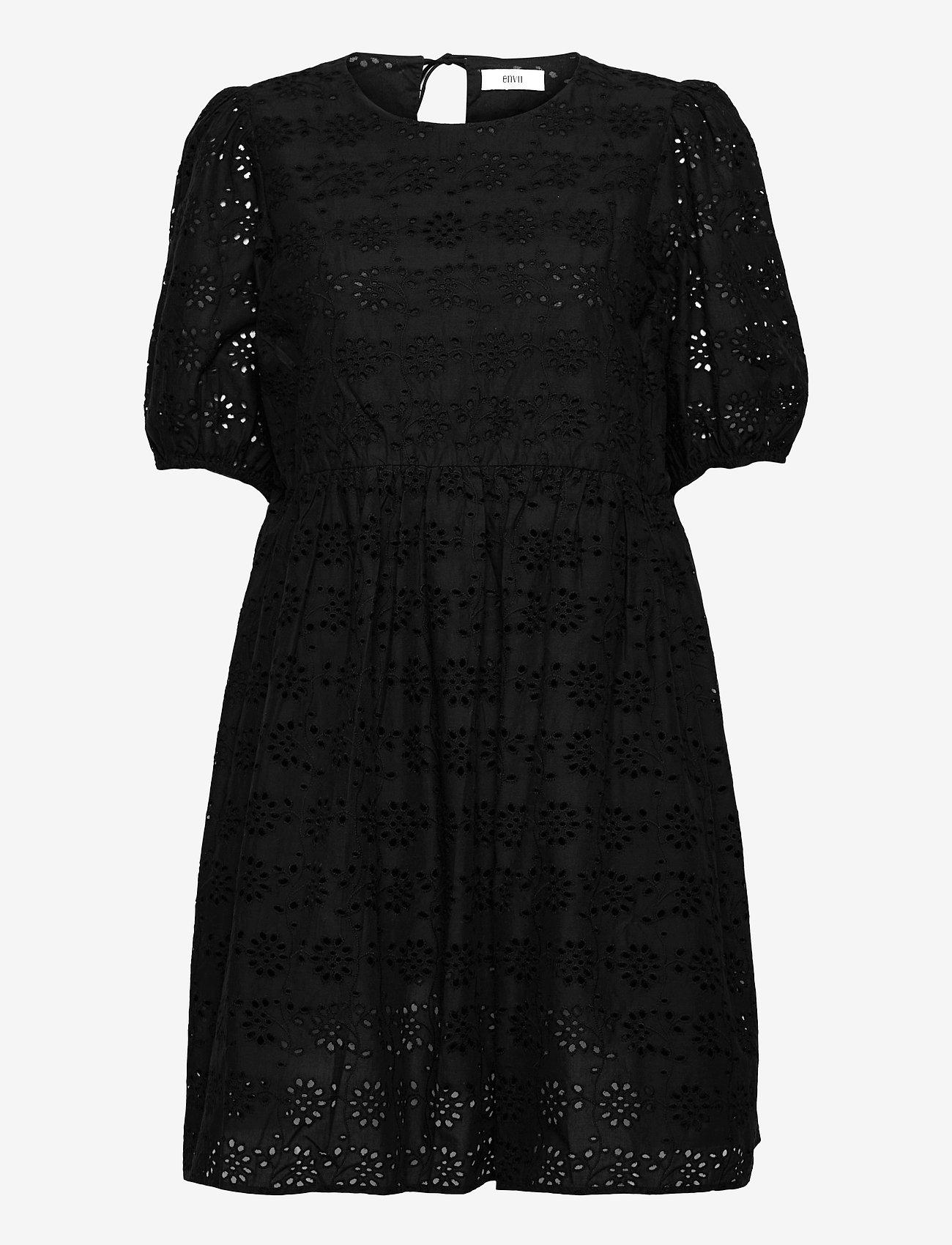 Envii - ENBUTTERCUP DRESS 6732 - sommerkjoler - black - 0