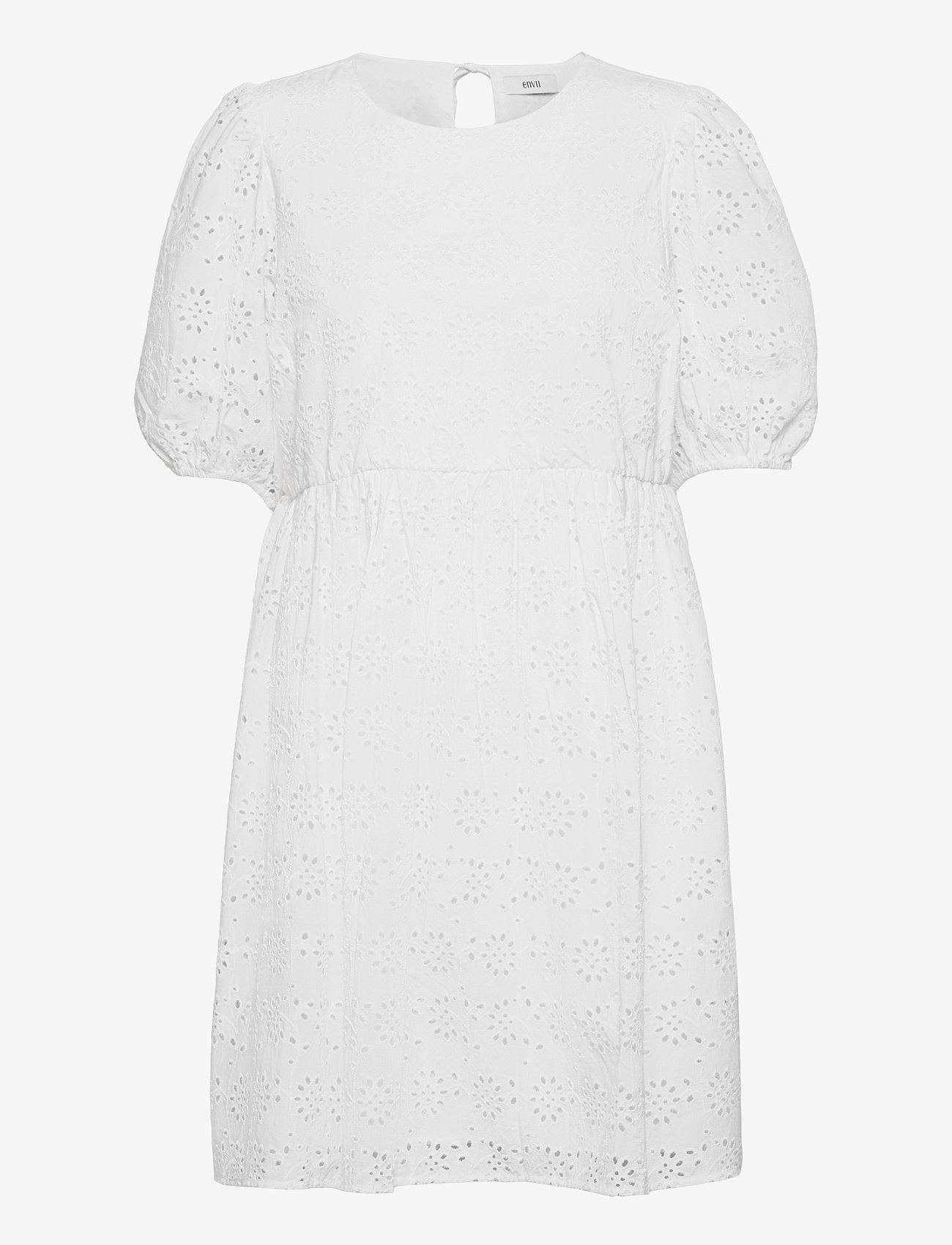 Envii - ENBUTTERCUP DRESS 6732 - sommerkjoler - white - 0