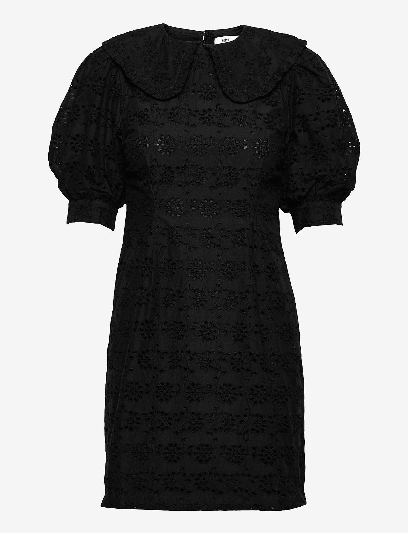 Envii - ENWISTERIA DRESS 6732 - sommerkjoler - black - 0