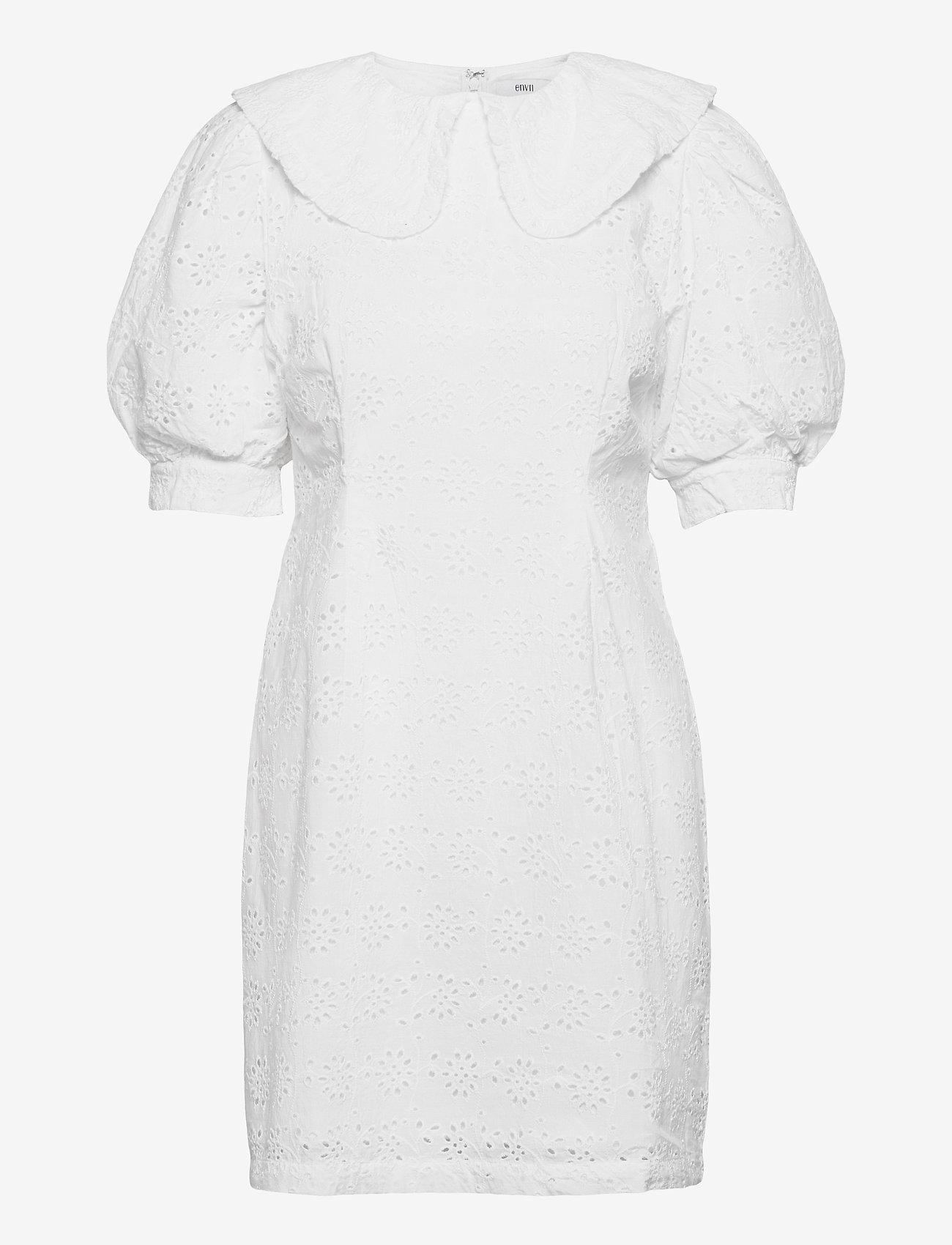 Envii - ENWISTERIA DRESS 6732 - sommerkjoler - white - 0