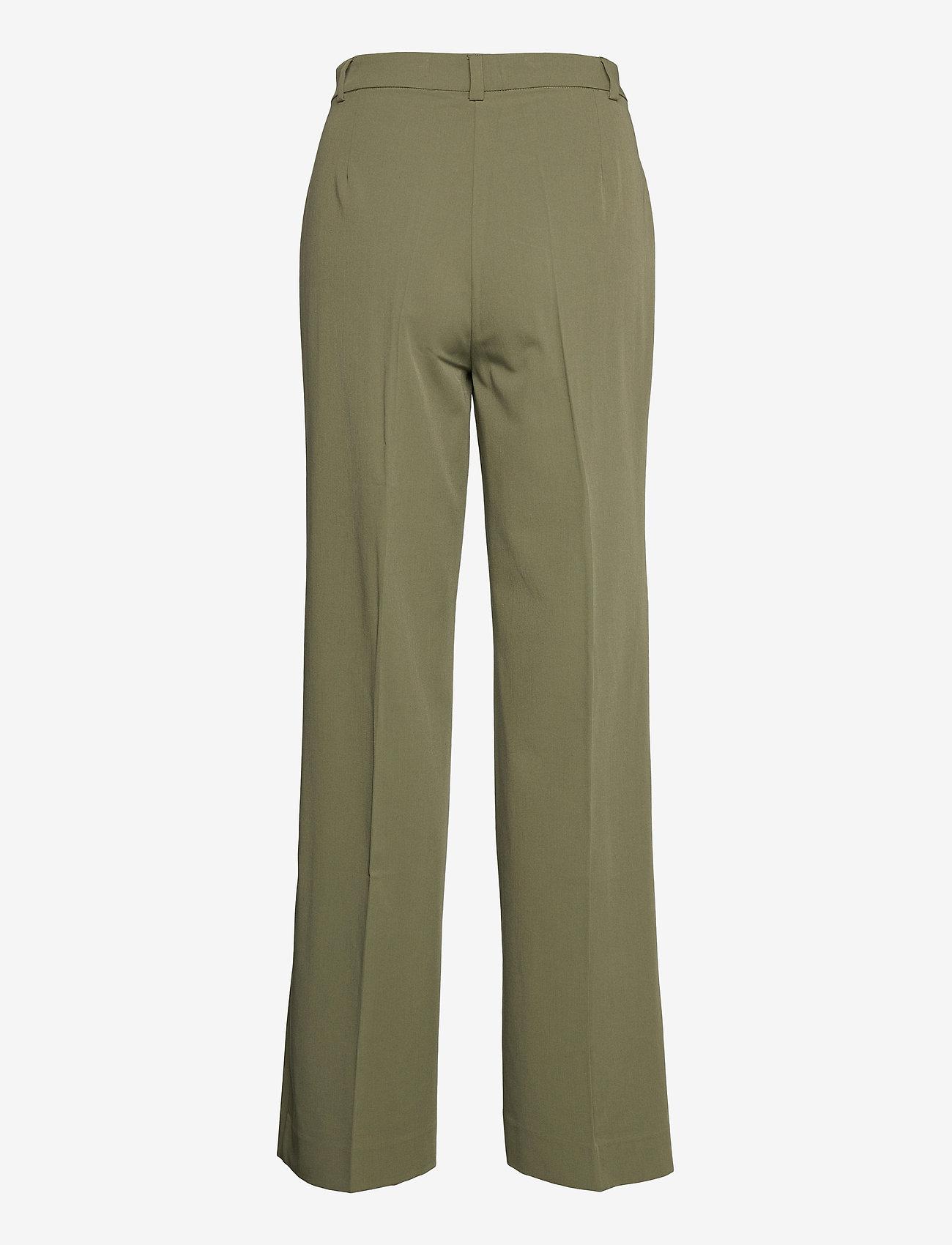Envii - ENSMITH PANTS 6745 - bukser med brede ben - deep lichen green - 1