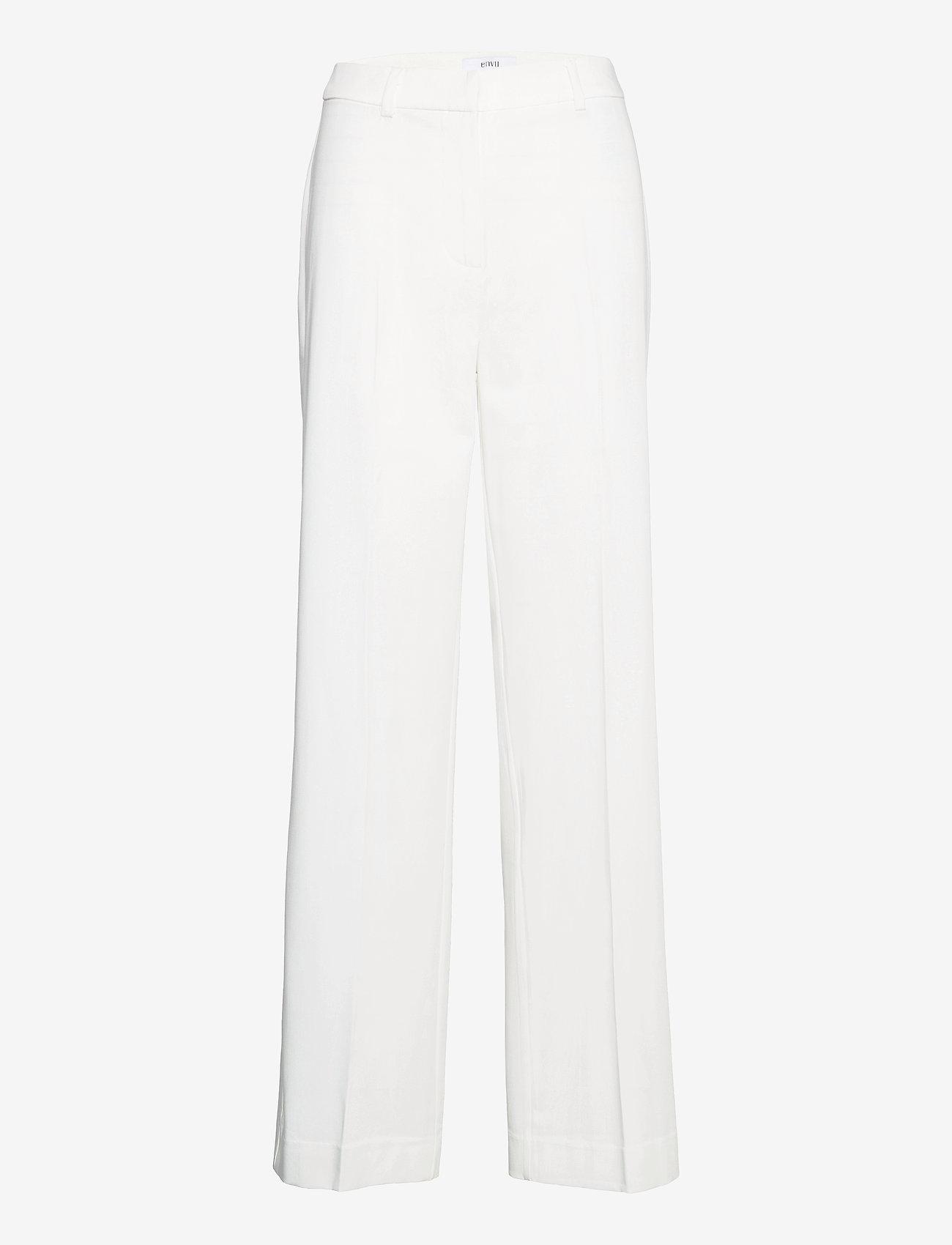 Envii - ENSMITH PANTS 6745 - bukser med brede ben - gardenia - 0