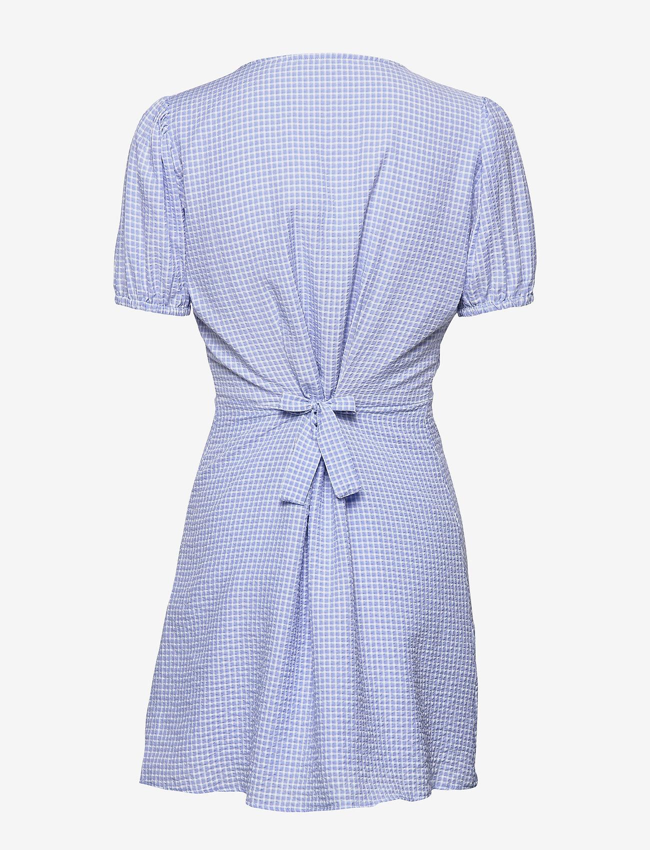 Encitrus Ss Dress 6680 (Lavender Check) (420 kr) - Envii