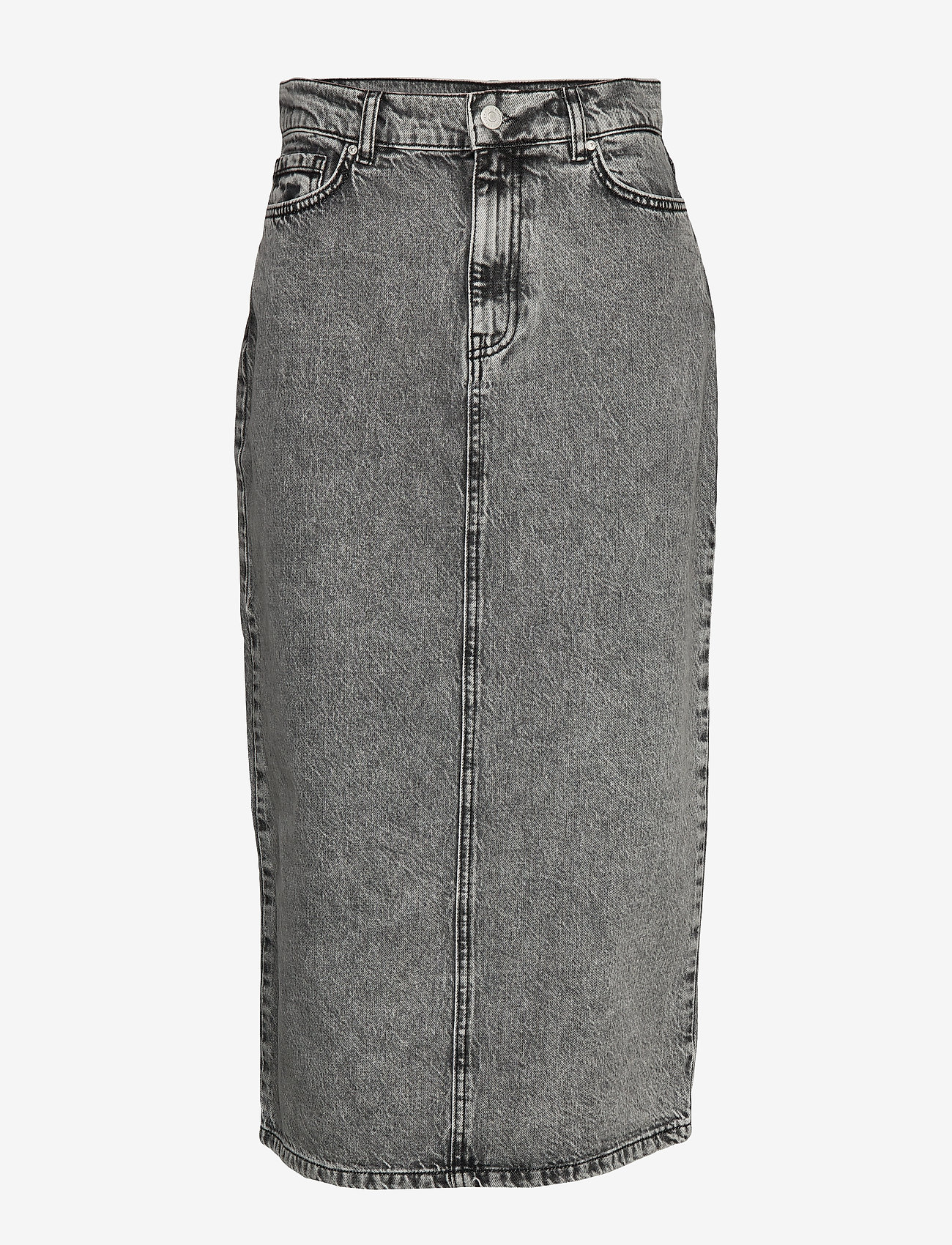 Envii - ENSPRUCE SKIRT 6693 - jeansowe spódnice - black stone - 0