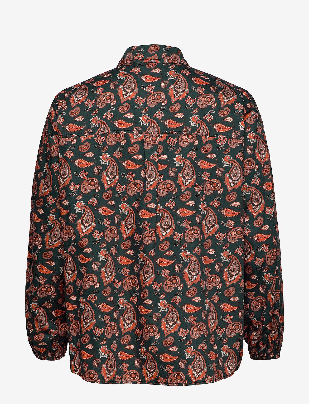 Envii Enclara Ls Shirt Aop 6709 - Chemisier & Chemises Tiger Paisley