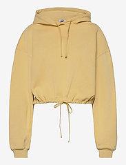 Envii - ENMONROE LS HOODIE 5304 - sweatshirts & hættetrøjer - straw - 0