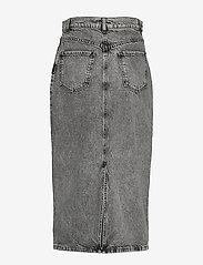 Envii - ENSPRUCE SKIRT 6693 - jeansowe spódnice - black stone - 1