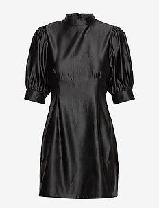 ENALBA LS T-N DRESS 6674 - BLACK
