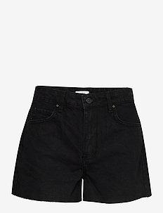 ENBRENDA DENIM SHORTS 6447 - chino shorts - worn black